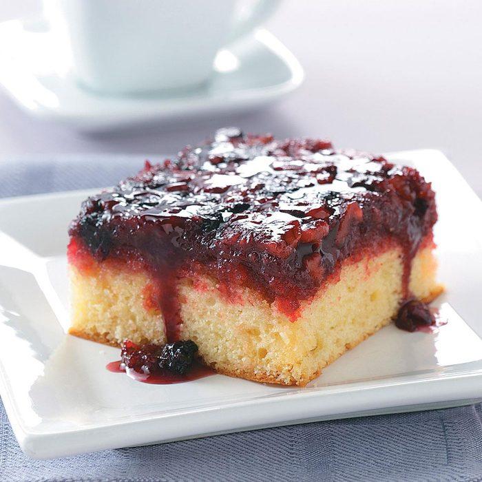 Upside-Down Berry Cake