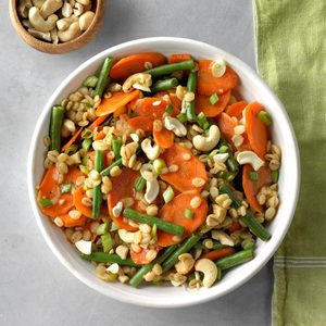 Vegetable Barley Saute