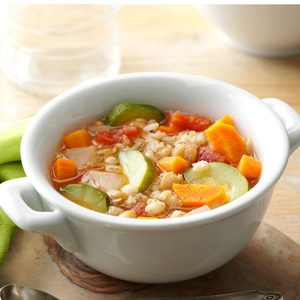 Vegetable Bean Barley Soup