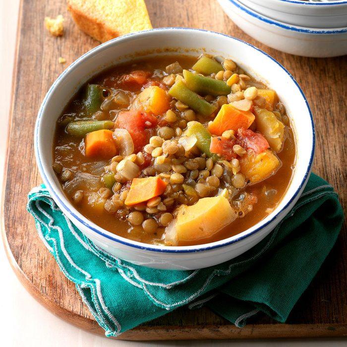 Vegetable Lentil Soup