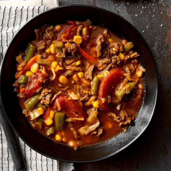 Vegetable Soup With Hamburger Exps Sscbz18 15399 B08 30 8b 5