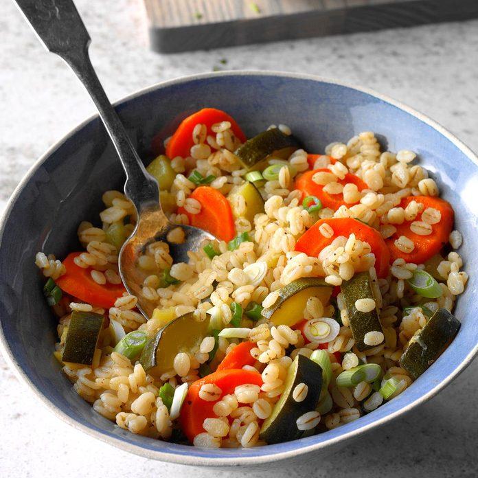 Vegetable and Barley Pilaf