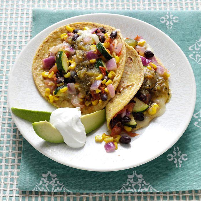 Veggie Bean Tacos