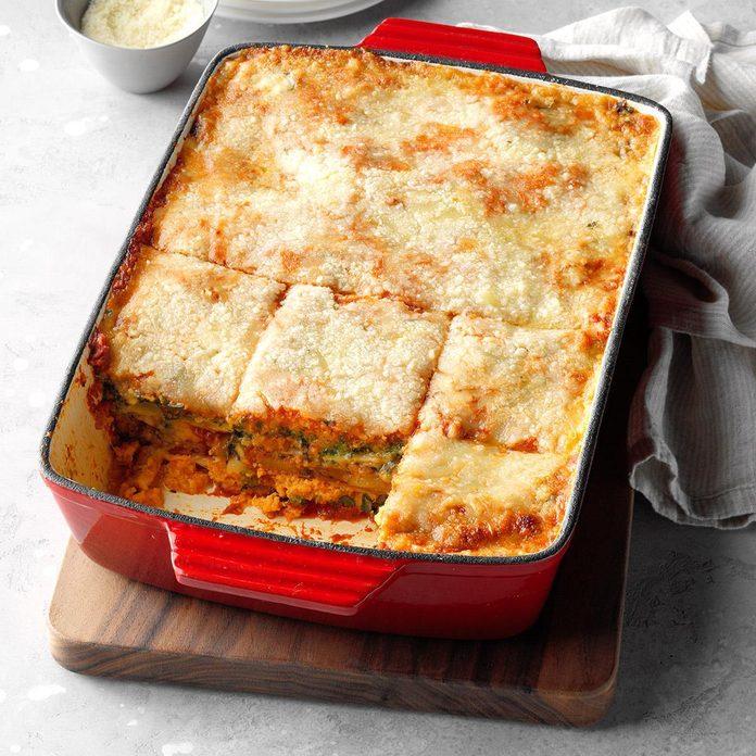 Day 28: Veggie Lasagna