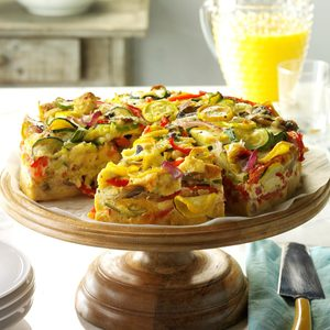 Veggie-Packed Strata