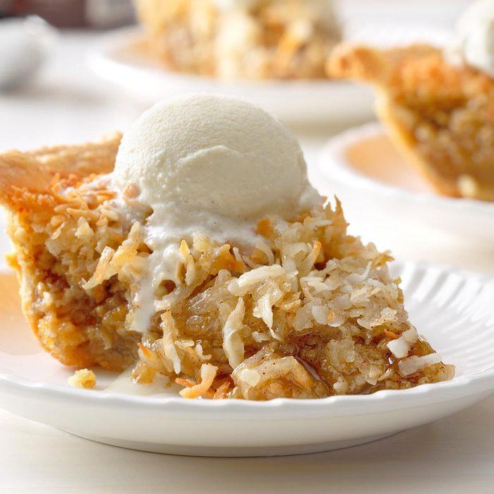 Vermont Maple Oatmeal Pie