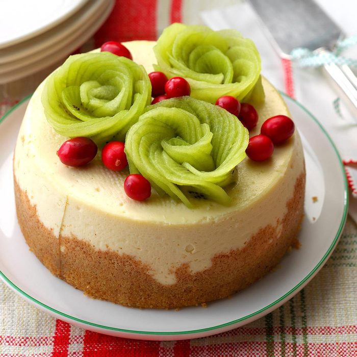 Very vanilla slow cooker cheesecake