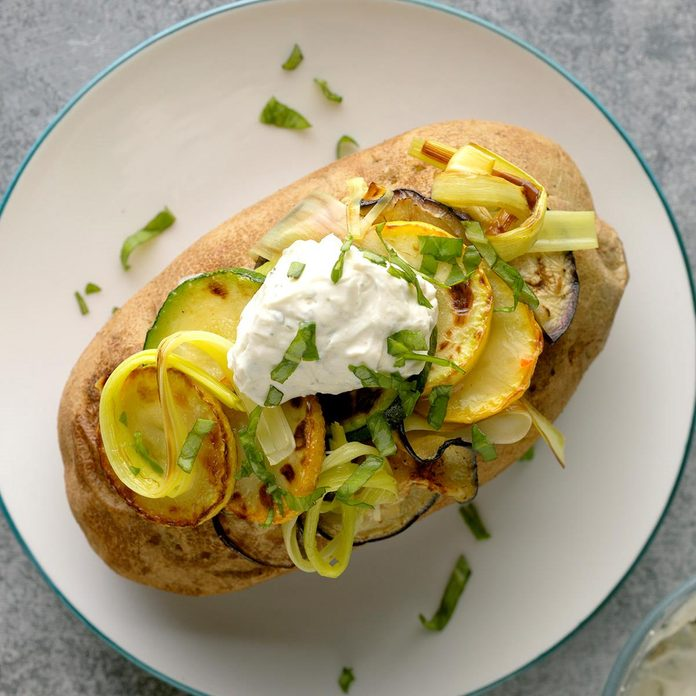 Very Veggie Baked Potatoes