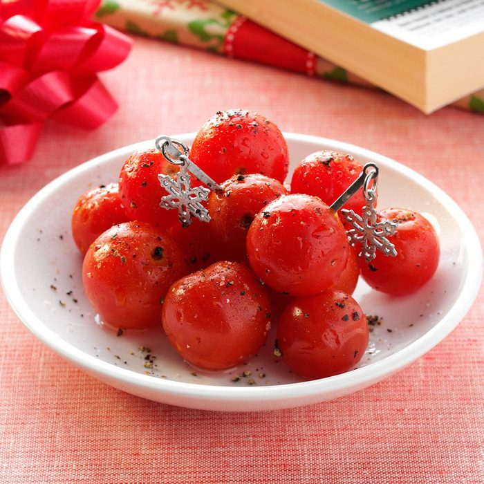 Vodka-Infused Cherry Tomatoes