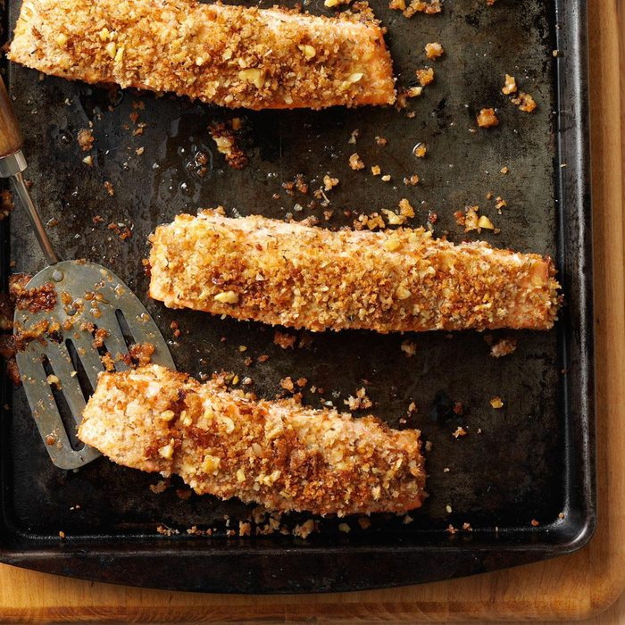 Walnut-Crusted Salmon