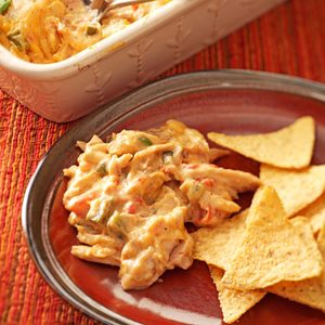 Warm Chicken Fiesta Dip
