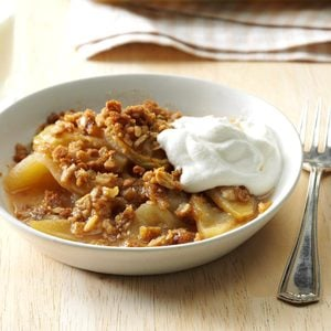 Weeknight Apple Crisp
