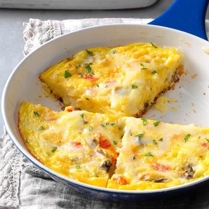 Monday's Breakfast: 'What's in the Fridge' Frittata