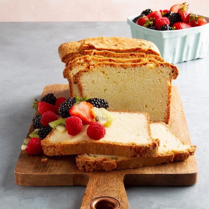 Whipped Cream Pound Cake