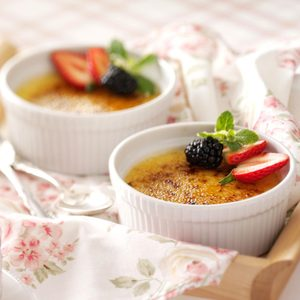 White Chocolate Creme Brulee