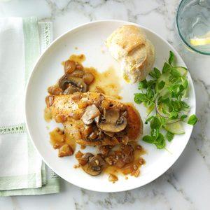 White Wine Garlic Chicken