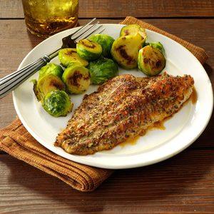 Zesty Baked Catfish