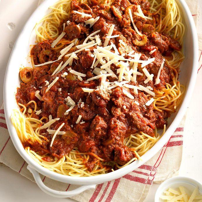 Day 25: Zippy Spaghetti Sauce