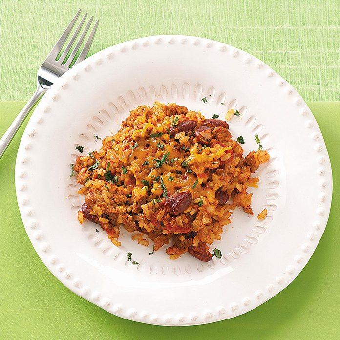 Zippy Turkey and Rice