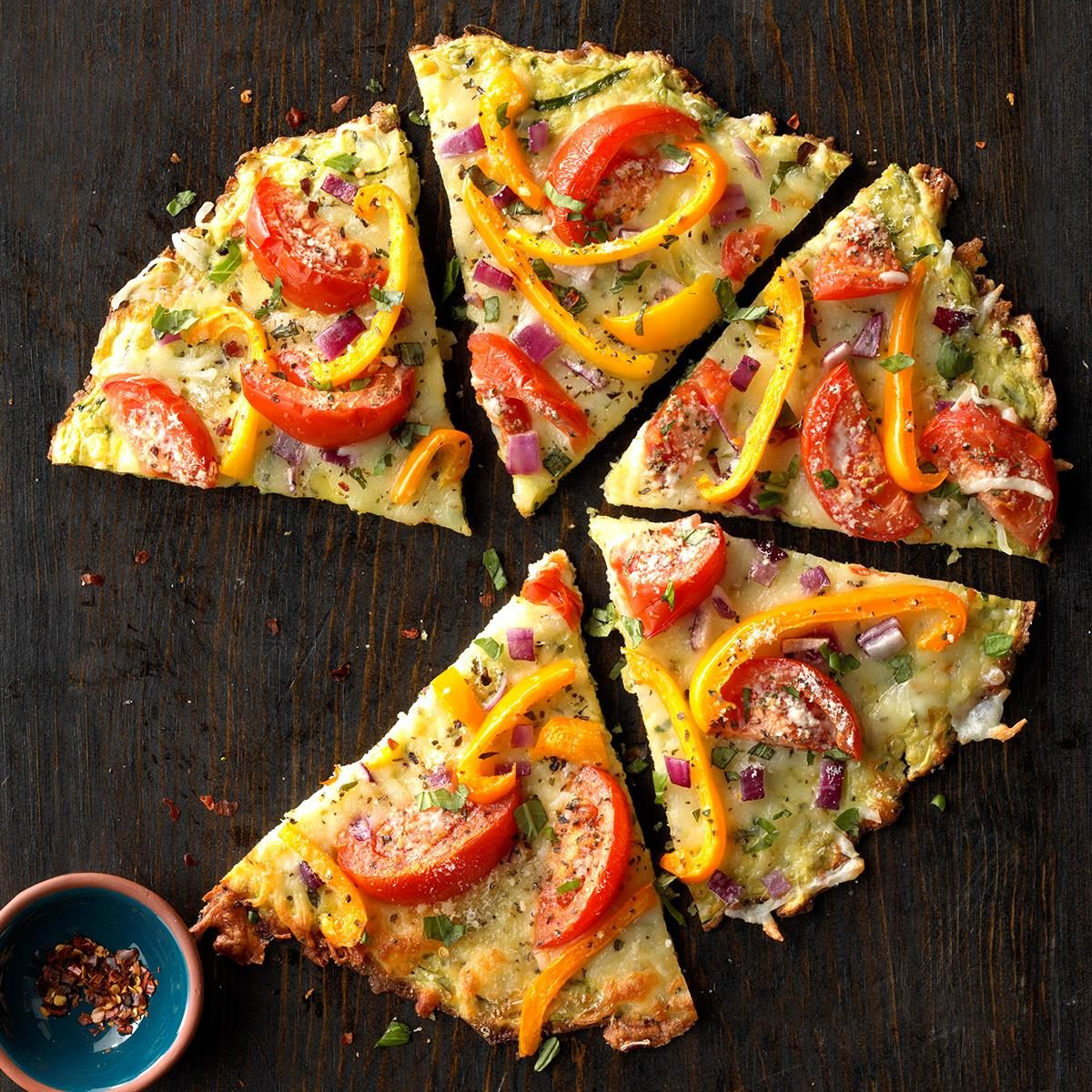 Veggie Pizza Crusts