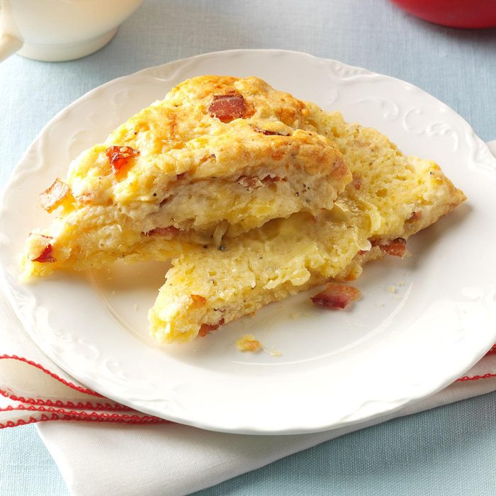 Peppered Bacon and Cheese Scones
