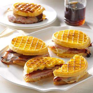 Waffle Monte Cristos