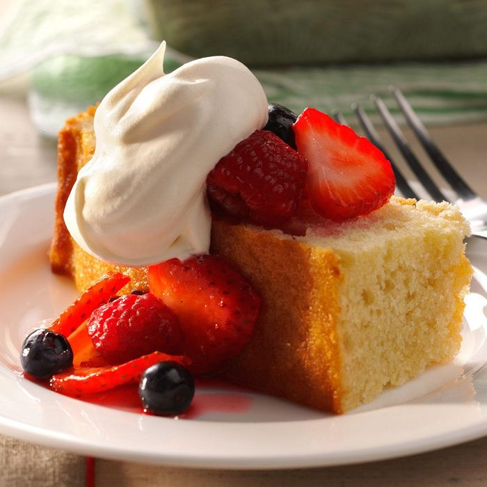 Triple Berry Shortcake