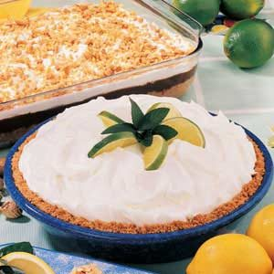 Lime Cheesecake Pie
