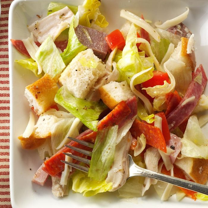 Meat Lover's Bread Salad