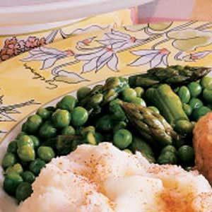 Pleasing Peas and Asparagus