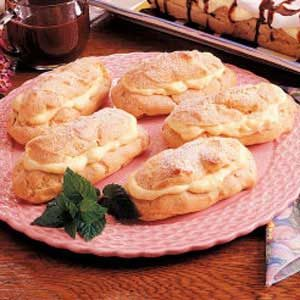 Traditional Eclairs