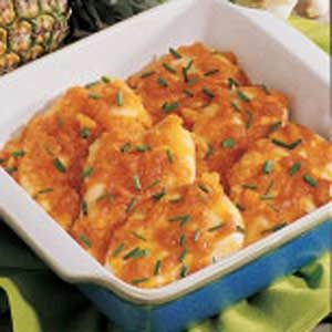 Chicken with Pineapple Sauce