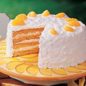 Sunny Coconut Cake