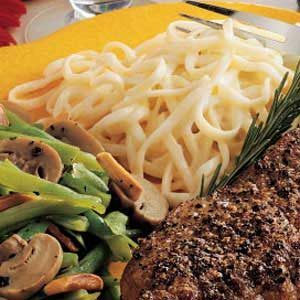 Two-Cheese Linguine