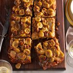 Bananas Foster Baked French Toast