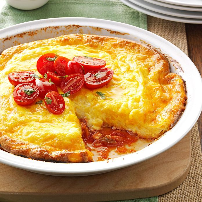 Picante Omelet Pie