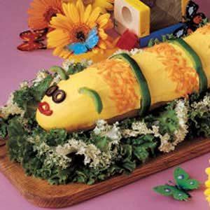 Cute Caterpillar Sandwich