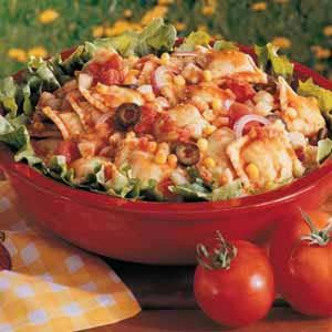 Spicy Ravioli Salad