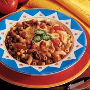 Zesty Macaroni Soup