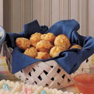 Baby Basil-Zucchini Muffins