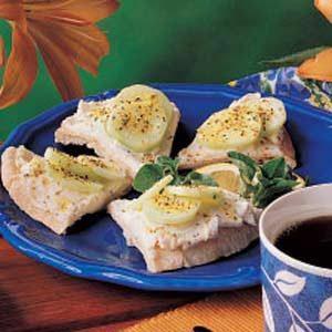 Cucumber Pita Wedges