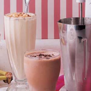 Tropical Milk Shakes