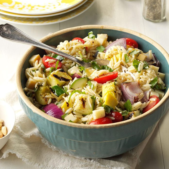 Day 31: Farmers Market Orzo Salad