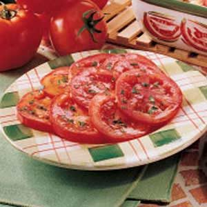 Simple Marinated Tomato Salad