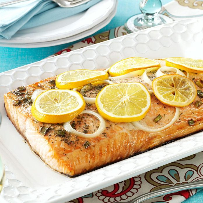 Inspired by: Grilled Salmon Lemon & Herb