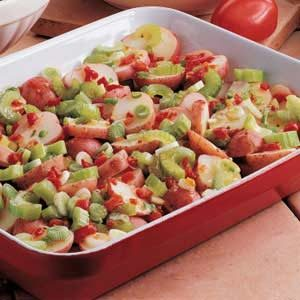 Easy Overnight Pimiento Potato Salad