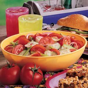 Make Ahead Vegetable Salad