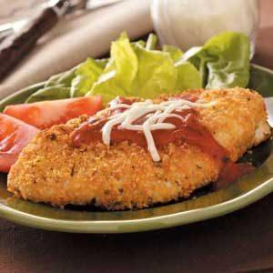 Microwave Chicken Parmesan