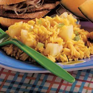 Curried Pineapple Rice