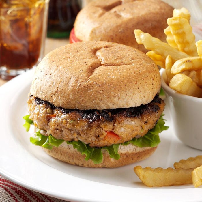 Inspired by: Red Robin's Grilled Turkey Burger